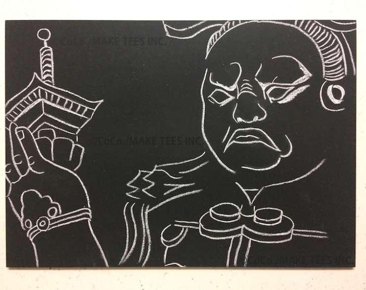 黒板の描き方