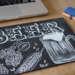 黒板チョークアート・キンキンに冷えたビールの描き方